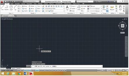 Line-command-draws-autocad