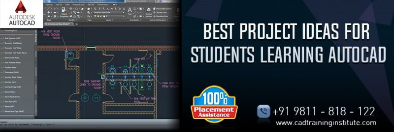Best AutoCAD Project Ideas to Learn from CAD Training Centers