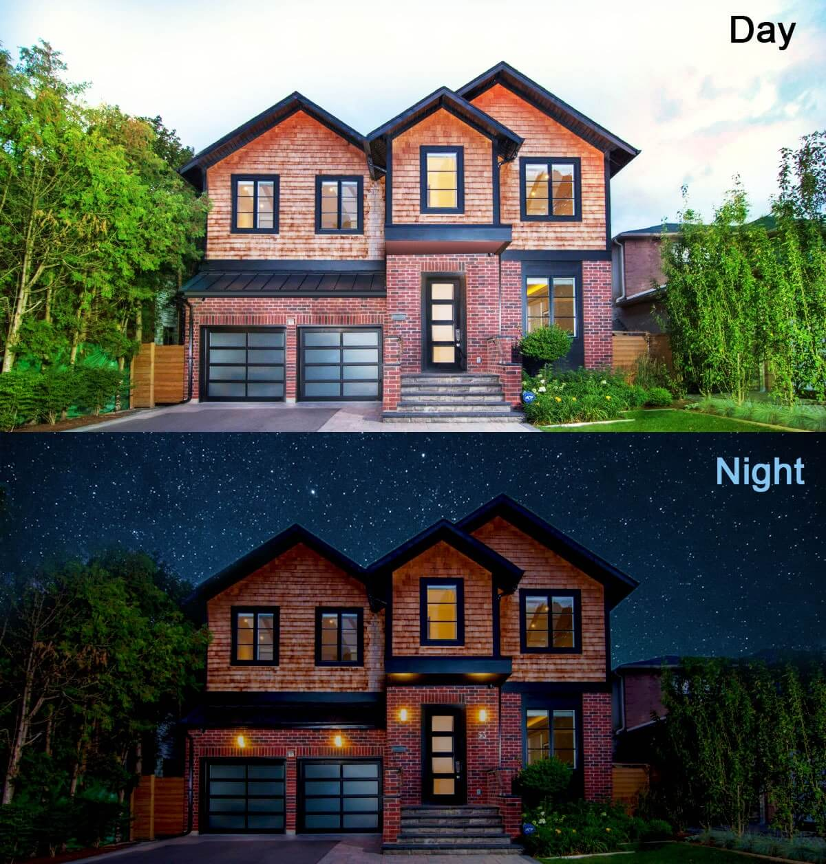 Day to night effect