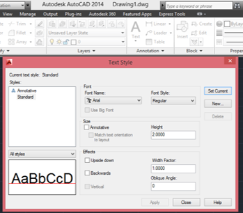 edit-text-style-in-autocad
