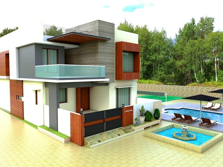 SketchUp Architecture Designing Project