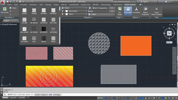 Material Mapping in AutoCAD